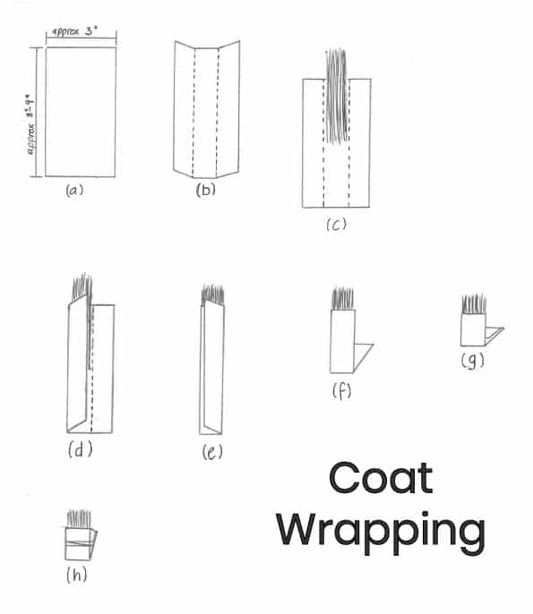 Coat Wrapping Guide